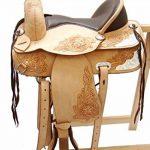 A&M Reitsport Kansas Selle de western en cuir de buffle Sans bois de la marque A&M Reitsport image 1 produit