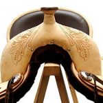 A&M Reitsport Kansas Selle de western en cuir de buffle Sans bois de la marque A&M Reitsport image 2 produit
