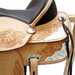 A&M Reitsport Kansas Selle de western en cuir de buffle Sans bois de la marque A&M Reitsport image 3 produit