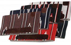 Amka mattes | couleur: marron–Western Pad Selle western Couette | feutre unterlegt, env. 76x 76cm Navajo Design de la marque Amesbichler image 0 produit