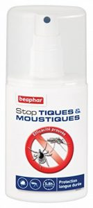 Beaphar - Stop Tiques & Moustiques, spray anti-tiques et moustiques - chien - 125 ml de la marque Beaphar image 0 produit