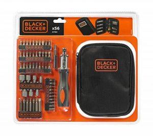Black + Decker A7104-XJ Coffret de Tournevis à cliquet avec accessoires de la marque Black-Decker image 0 produit