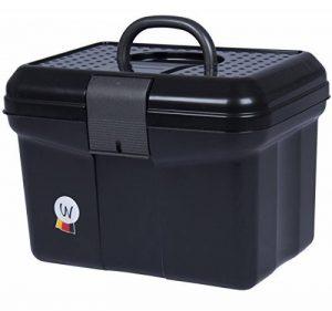 Coffre de pansage Rannenberg Boîte de coffre avec poignée, verrouillable, Diviseur réglable Grooming Box Noir de la marque Amesbichler image 0 produit