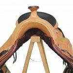Coton Changement de la selle Western Tulsa Eco en cuir de buffle, sans bares Tête Fer de la marque A&M Reitsport image 2 produit
