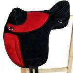 Coton sans Sheffield Selle de dressage en plastique noir/rouge de la marque A&M Reitsport image 1 produit