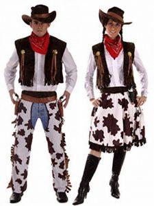 Couples COW-BOY & Cowgirl Woody & JESSIE Costume western Costume Déguisement grande taille & Standard de la marque Fancy Me image 0 produit