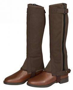 Covalliero ClassisStrectch Minichaps Accessoire d'Équitation pour Cheval Marron Taille L de la marque Covalliero image 0 produit