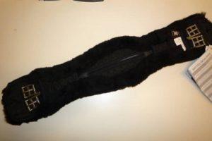 E.A.Mattes Sangle courte anatomique en peau d'agneau Noir de la marque E.A.Mattes image 0 produit