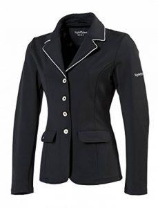 EQUI-THÈME Veste de concours équitation femme Soft Light - 2 Couleurs : Noir ou Marine de la marque Equi-Theme image 0 produit