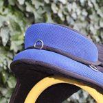 Equipride enfant Selle sans arçon 30,5cm Plus assorti Tour de poitrine Noir avec Bleu roi de la marque Equipride image 2 produit