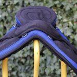 Equipride enfant Selle sans arçon 30,5cm Plus assorti Tour de poitrine Noir avec Bleu roi de la marque Equipride image 3 produit