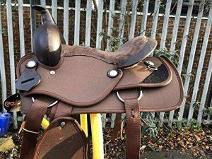 Equipride enfants de selle Western synthétique pour Shetalnd Poney et mini Cheval de la marque Equipride image 0 produit