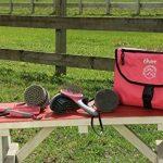 Eurohorseline Oster - 78399-325 - Set de soins pour chevaux - 7 pièces - Rose de la marque Oster image 1 produit