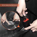 GHB Housse pour Chien Voiture Housse de Protection Voiture Chien Couverture Double Zips Imperméable et Anti-Rayures Universelle pour Voiture Camion SUV-Noir de la marque GHB image 3 produit