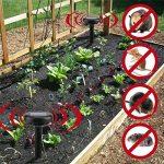 GOWOLD Solaire de charge ultrasonique jardin pelouse répulsif répulsif sauvage sanglier animal pilote de la marque GOWOLD image 2 produit