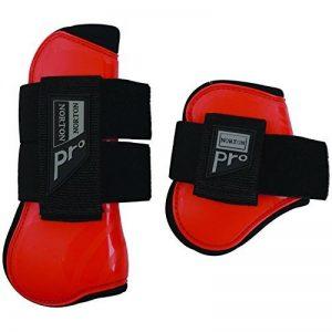 Guêtre et protège_boulets Norton 'PRO'-rouge-Cheval de la marque Norton image 0 produit
