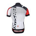 Gwell Ensemble Maillot de Cyclisme Set pour Homme Vêtements Vélo VTT VTC Manches Courtes + Short avec Coussin d'assise 3D de la marque GWEL image 3 produit