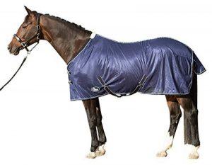 Harry's Horse 32205024–125cm Couverture anti-mouches Mesh, par défaut, avec sangles, M, bleu marine de la marque Harry's Horse image 0 produit