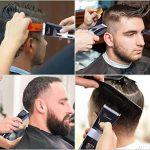 Hatteker Tondeuse Cheveux Tondeuse Barbe Professionnelle Electrique avec Ecran LCD Sans Fils USB Rechargeable Imperméable de la marque Hatteker image 2 produit