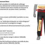 HB Hommes Moto Jeans. Bleu. Aramid de protection renforcée doublée moto Jeans. de la marque OneDayMore image 1 produit
