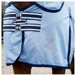 Horze Couverture Combo anti-insectes Freja Bleu ciel 125CM de la marque Horze image 1 produit