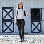 Horze Culotte Collant d'équitation Super Souple Juliet, Fond Intégral, Femme de la marque Horze image 3 produit