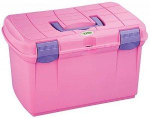 Kerbl 328265Putz Boîte de rangement Arrezzo avec compartiments amovibles, rose de la marque Kerbl image 0 produit