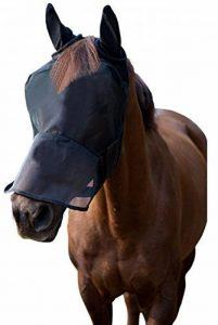 LTG Pro® Cheval Poney COB Fly Masque Voile Capuche Full Face Dessin animé Polyester oreilles Nez protection de la marque LTG PRO® image 0 produit