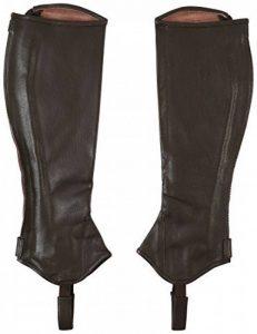 Marc Todd Mini-chaps en cuir pour femme Taille unique de la marque Mark Todd image 0 produit