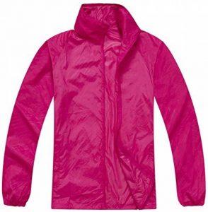 Mochoose Femme Légère Packable Veste de Sport à Capuche Protection UV Coupe Vent Imperméable à Séchage Rapide de la marque Mochoose image 0 produit