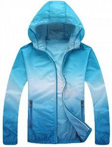 Mochoose Femme Légère Packable Veste de Sport à Capuche Protection UV Coupe Vent à Séchage Rapide de la marque Mochoose image 0 produit
