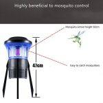 MRSLIU Mosquito Killer Lampe Électronique Bug Zapper LED Lampe Piège USB Alimenté Catcher Insectes Smart Contrôle De La Lumière Étanche Pour Chambre Intérieure de la marque MRSLIU image 1 produit