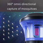 MRSLIU Mosquito Killer Lampe Électronique Bug Zapper LED Lampe Piège USB Alimenté Catcher Insectes Smart Contrôle De La Lumière Étanche Pour Chambre Intérieure de la marque MRSLIU image 2 produit
