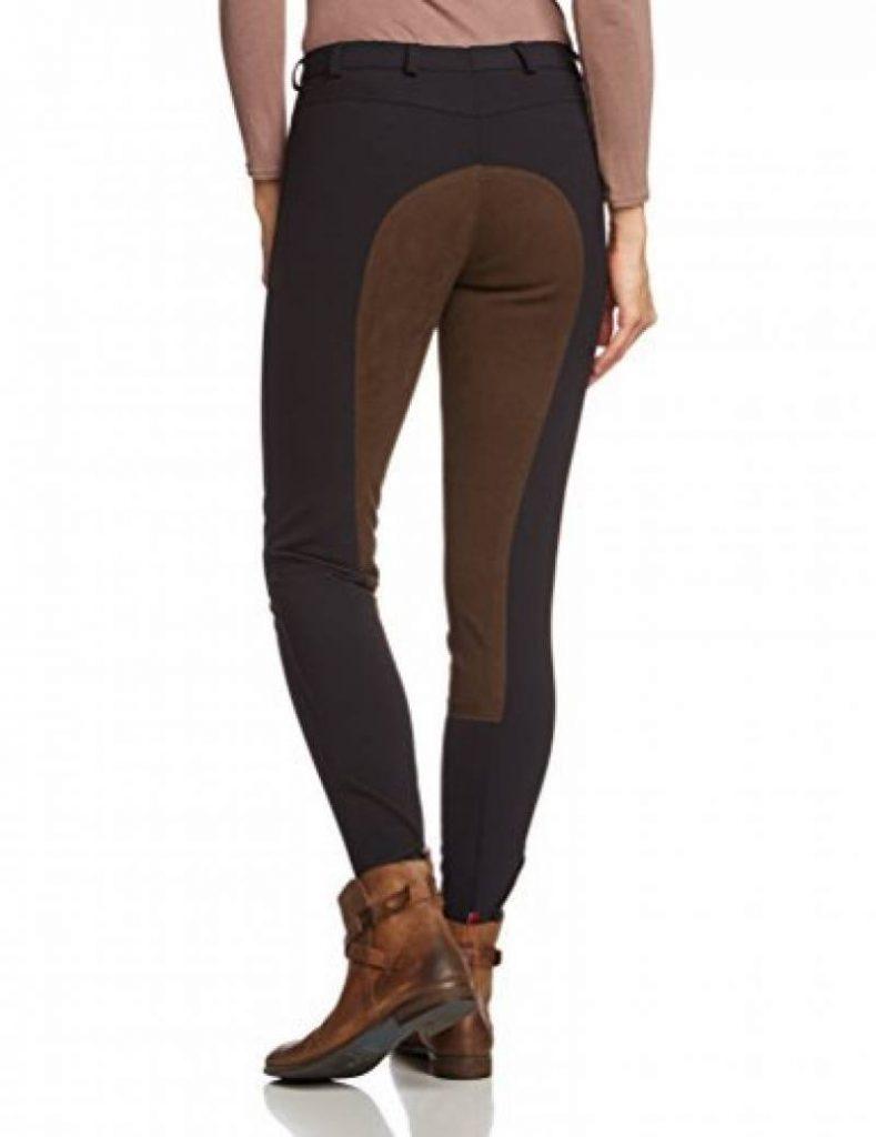 PFIFF Pantalon Softshell d/équitation pour Femme
