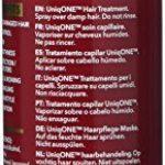 REVLON PROFESSIONAL UNIQONE Masque en Spray sans Rinçage pour tous Types Cheveux 10 Bienfaits Rouge Classique, 150ml de la marque REVLON-PROFESSIONAL image 2 produit