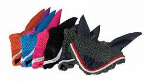 Rhinegold Wave Bonnet chasse-mouche pour cheval ou poney/anti-bruit, cob, superbes couleurs de la marque Rhinegold image 0 produit