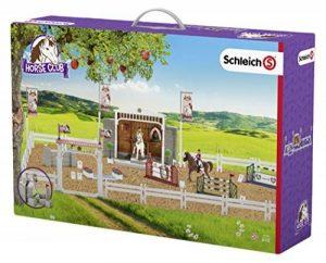Schleich 42338 - Grand Concours Hippique Avec Cavalières Et Chevaux - de la marque Schleich image 0 produit