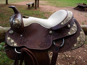 "'Selle western esposita Set ""Texas avec mors et bricole de la marque Esposita image 0 produit"