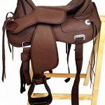 Selle western sans Coton Amarillo + FENDER +, Étrier, marron de la marque A&M Reitsport image 1 produit