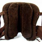 Selle western sans Coton Amarillo + FENDER +, Étrier, marron de la marque A&M Reitsport image 3 produit