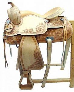 Selle western sans Coton Dakota en cuir de buffle Full Quarter de la marque A&M Reitsport image 0 produit
