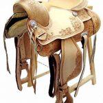 Selle western sans Coton Dakota en cuir de buffle Full Quarter de la marque A&M Reitsport image 1 produit