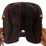 Selle western sans Coton Indiana en Cuir de Buffle avec coussin Velcro de la marque A&M Reitsport image 4 produit