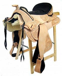 Selle western sans Coton Utah Eco en cuir de buffle haute qualité de la marque A&M Reitsport image 0 produit