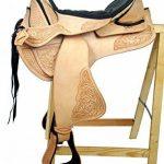 Selle western sans Coton Utah Eco en cuir de buffle haute qualité de la marque A&M Reitsport image 1 produit