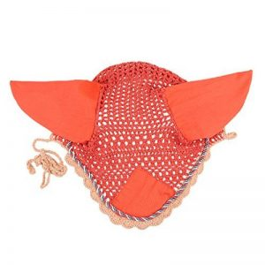 Sharplace Bonnet de Protection d'Oreilles Masque Anti-Mouche Voile Gland Bord pour Cheval de la marque Sharplace image 0 produit