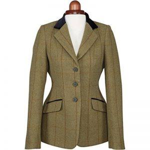 Shires Aubrion Saratoga Veste d'équitation pour femme–Cuivre Check de la marque Shires image 0 produit