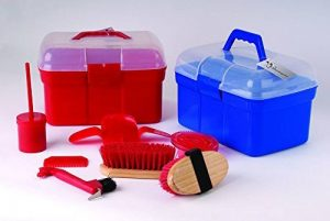 Shorefields Harlequin Kit de pansage complet avec boîte de transport et 7accessoires de la marque Shorefields image 0 produit
