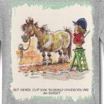 Spreadshirt Thelwell Cavalière A Mal Tondu Son Poney T-Shirt Manches Longues Ado de la marque Spreadshirt image 1 produit