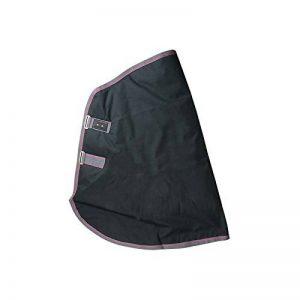 TdeT Couvre Encolure Imper Double Poly-coton Noir/Gris Médium de la marque TdeT image 0 produit